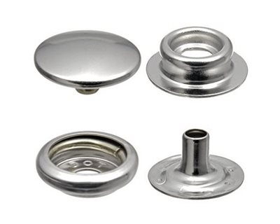 Durable™ 316 Snap Fasteners - Stainless Steel