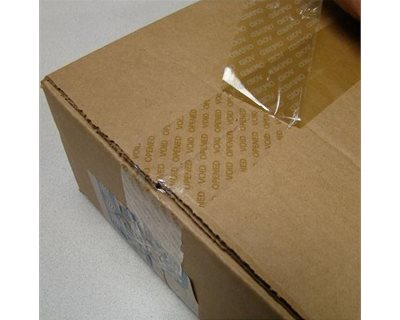 Tamper-Evident Security Packaging Tape | KTB