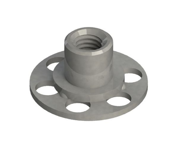 Female Bonding Fasteners - 23mm Round Open Base slide 1