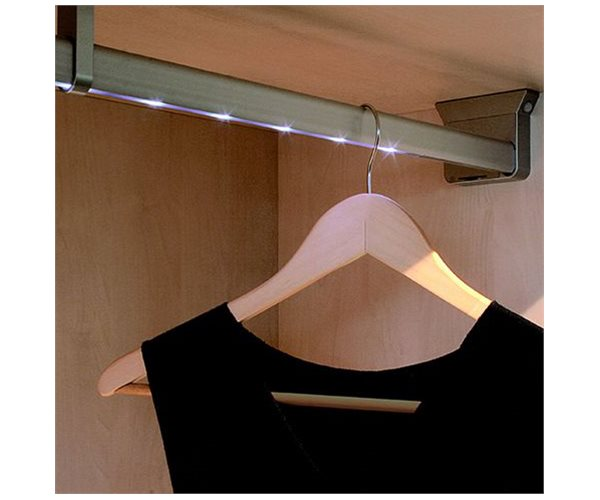 LED Wardrobe Rail System slide 1